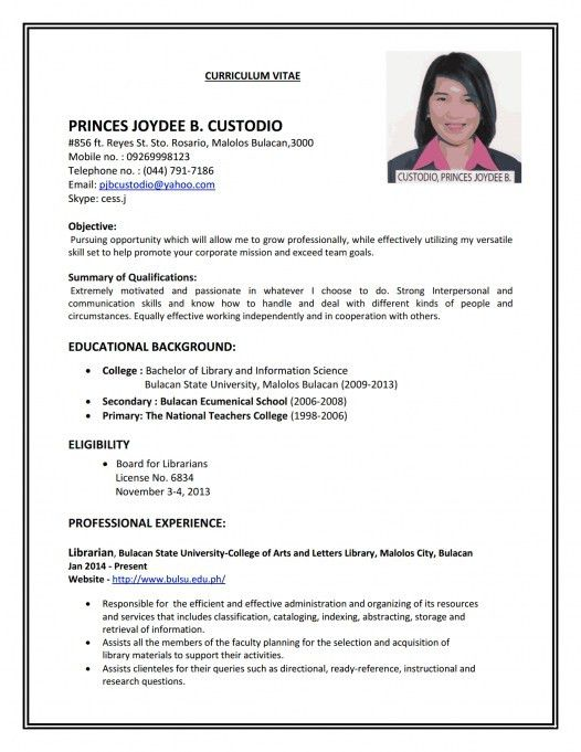 Ready Resume Format. Resume Format 2017 Resume Format 2017 - 20 ...