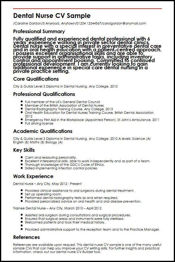Curriculum Vitae Examples For Nurses. Resume. Ixiplay Free Resume ...
