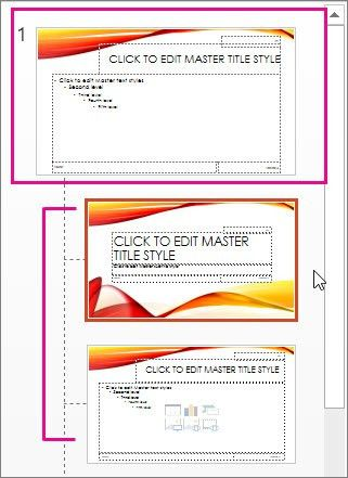 Create or customize a slide master - PowerPoint