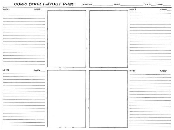 Comic Storyboard Template – 10+ Free Sample, Example, Format ...