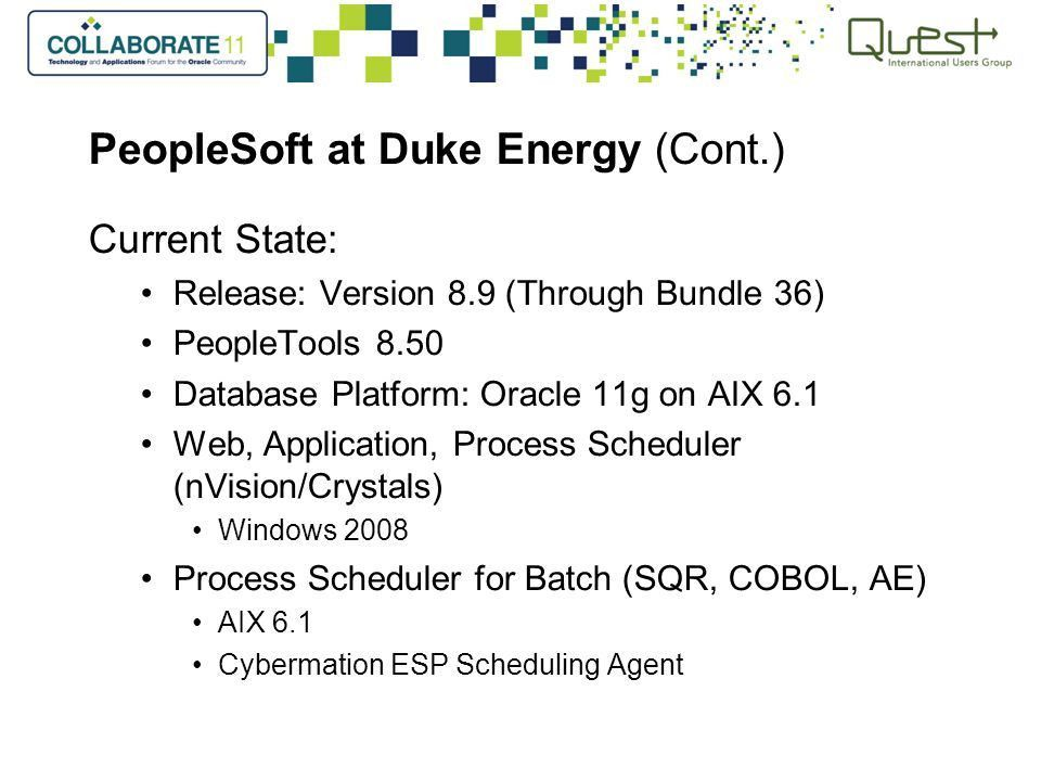 PeopleSoft Financial Gateway: Duke Energy's Story - ppt download