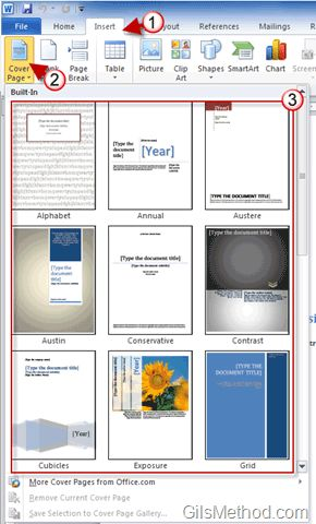 Impress Your Boss with Amazing Cover Pages in Word 2010