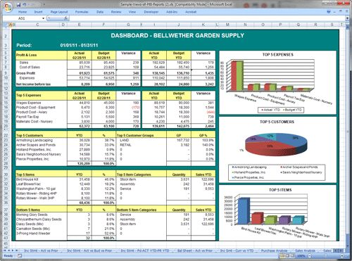 Sage 50 Business Intelligence Reporting | Custom BI Reports