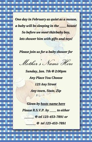 baby shower invitation samples boy baby+shower+invite+(blog+ ...
