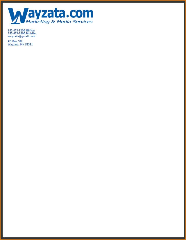 4 business letterhead examples | teknoswitch