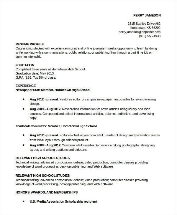 profile sample resume how to write a professional profile resume