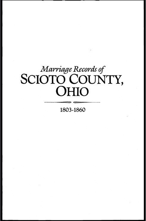 All about genealogy and family history - File:Cover Page Scioto ...