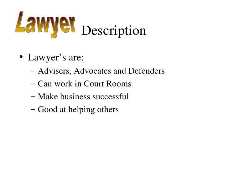 Lawyer Presentation