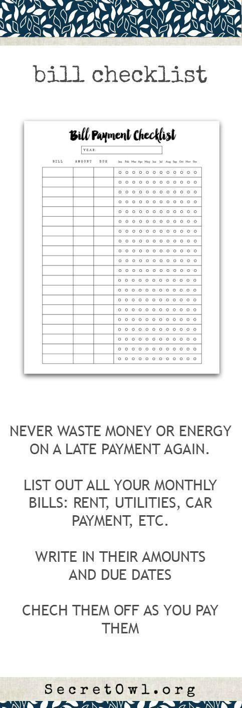 Best 25+ Organizing monthly bills ideas on Pinterest   Organize ...