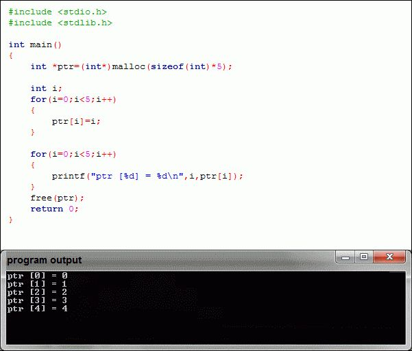 malloc() another example(with for loop) - C Programming Tutorial