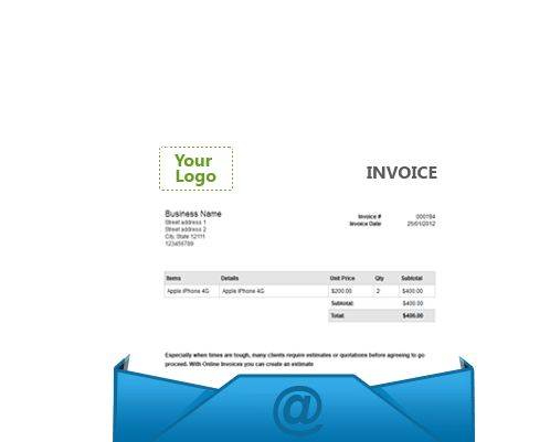 Customise Your System - Online Invoices