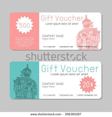 Voucher Template Stock Images, Royalty-Free Images & Vectors ...