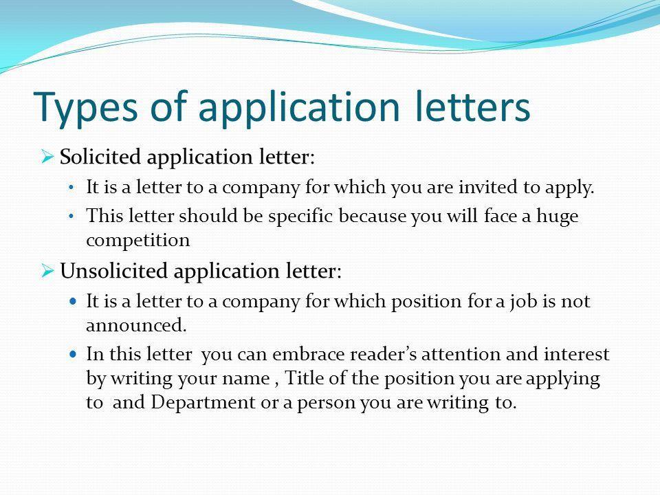 Application Letter To Professor