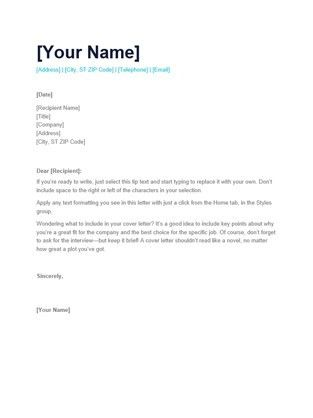 Cover Letter Layout. Dayjob Com | Our Website Has A Wide Range Of ...