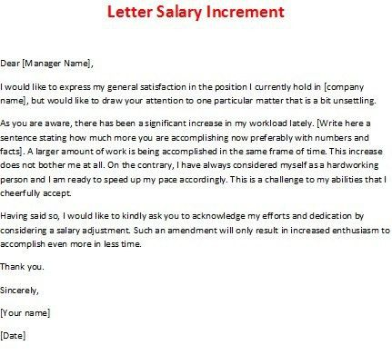 Salary Increase Memo - Template Examples