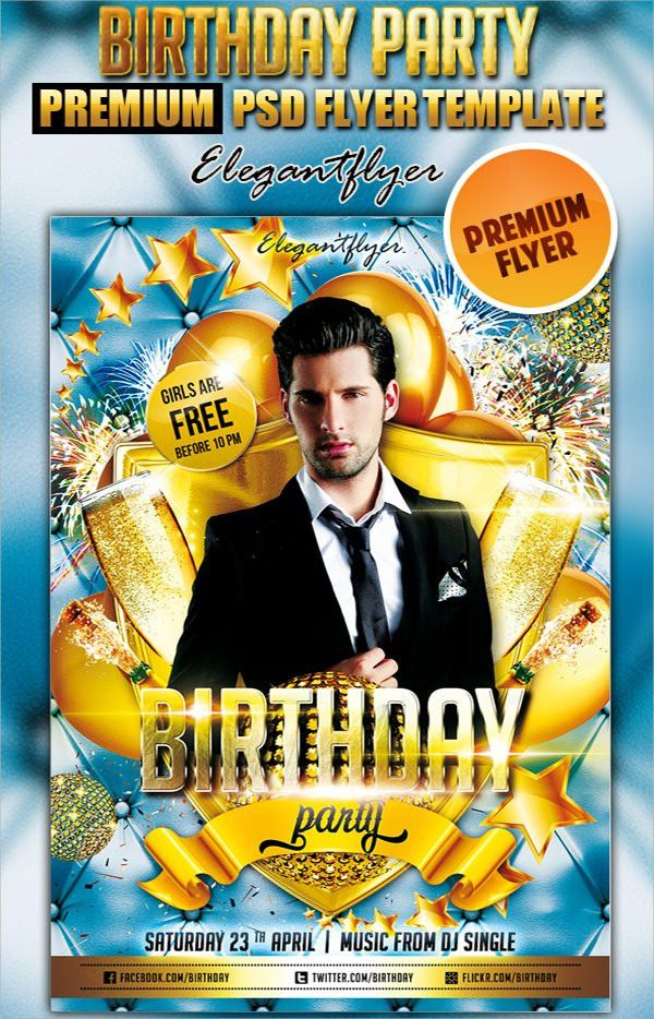 Birthday Flyer - 8+ Premium and Free Download