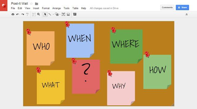 8 Creative Uses of Google Drawings You Shouldn't Ignore
