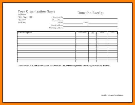 6+ donation forms templates | hvac resumed