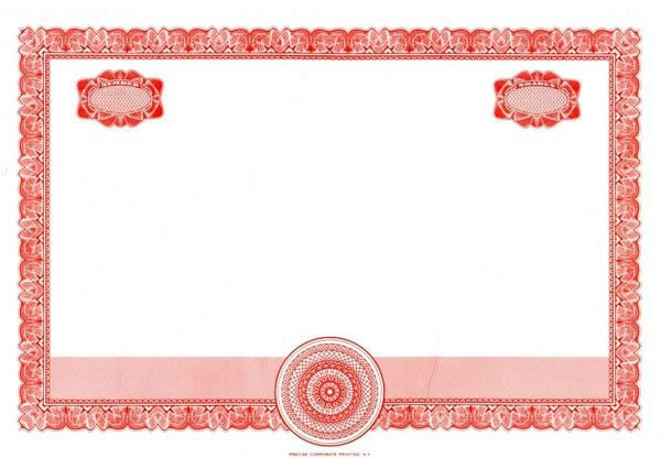 15 Ribbons Certificate Templates | Certificate Templates