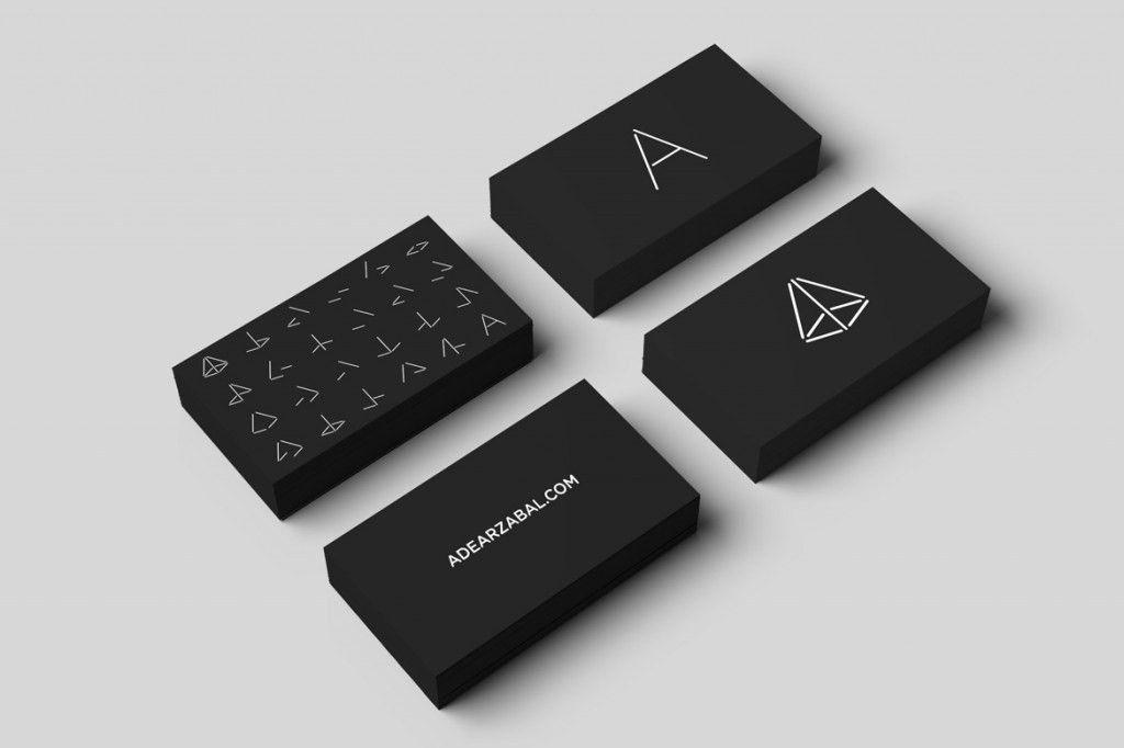 Arzábal - Business Card Design Inspiration | Card Nerd | Biz card ...