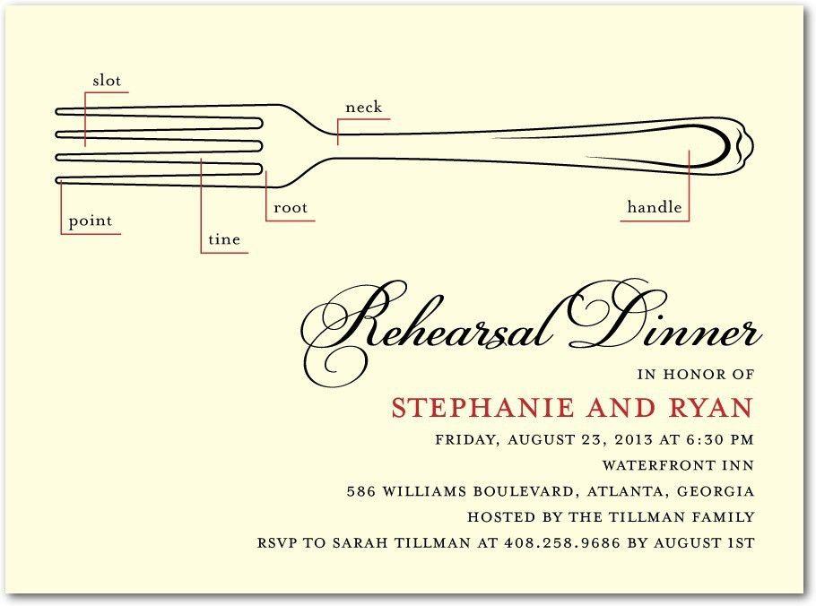 Rehearsal Dinner Invitations Etiquette | christmanista.com