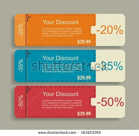 Scissors Coupon Vector Sheet - Download Free Vector Art, Stock ...
