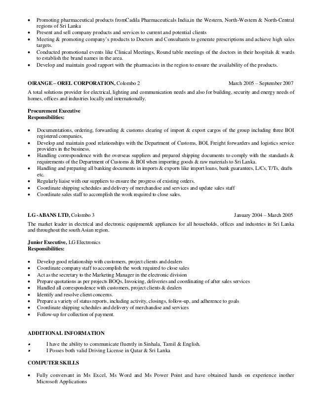 Resume -Apple UAE 007