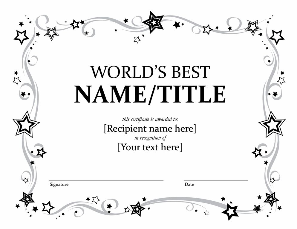 Award templates for word certificates officecom award certificates office yadclub Images