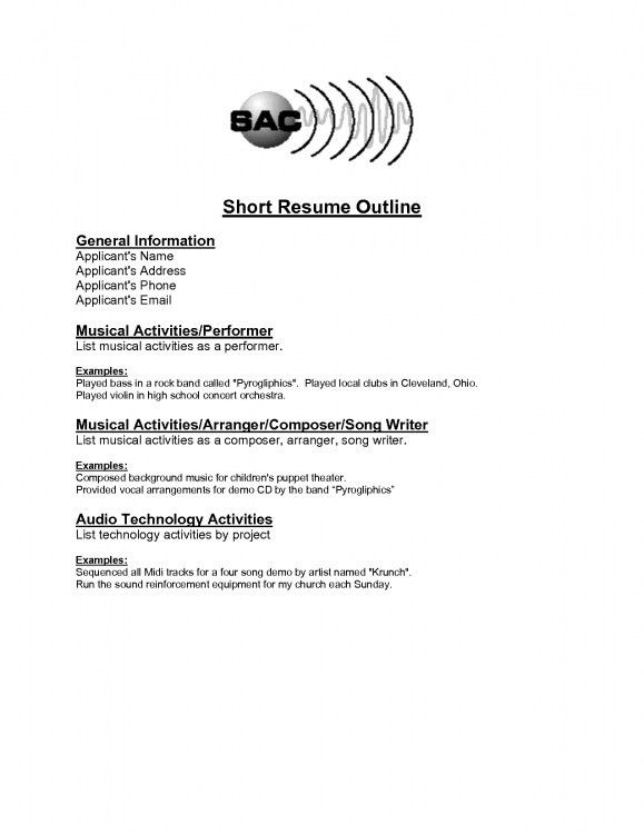 Download Short Resume | haadyaooverbayresort.com
