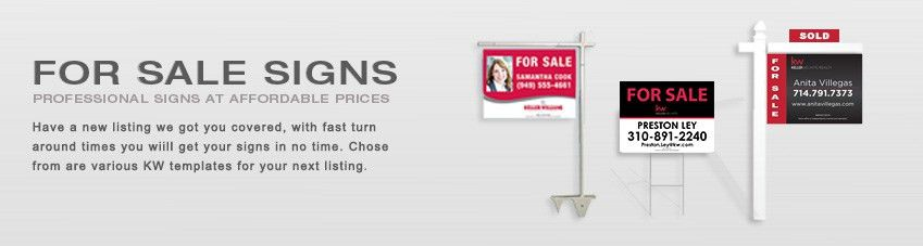 Category - FOR-SALE-SIGNS - Keller Williams by JustClickMedia.com ...