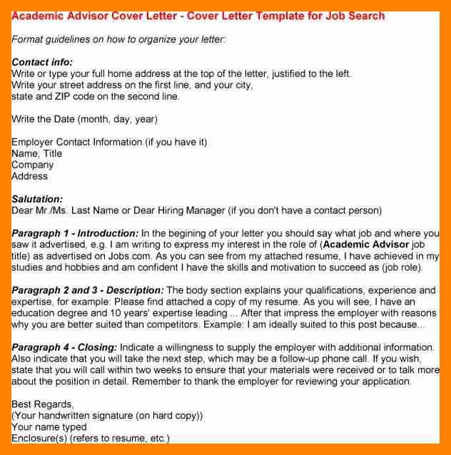 7+ academic advisor cover letter | doctors signature