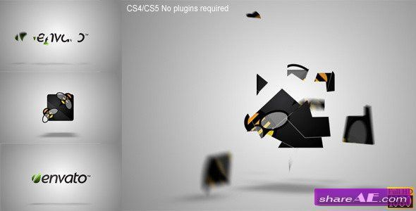 Pieces Logo Formation - After Effects Templates (Videohive) » free ...