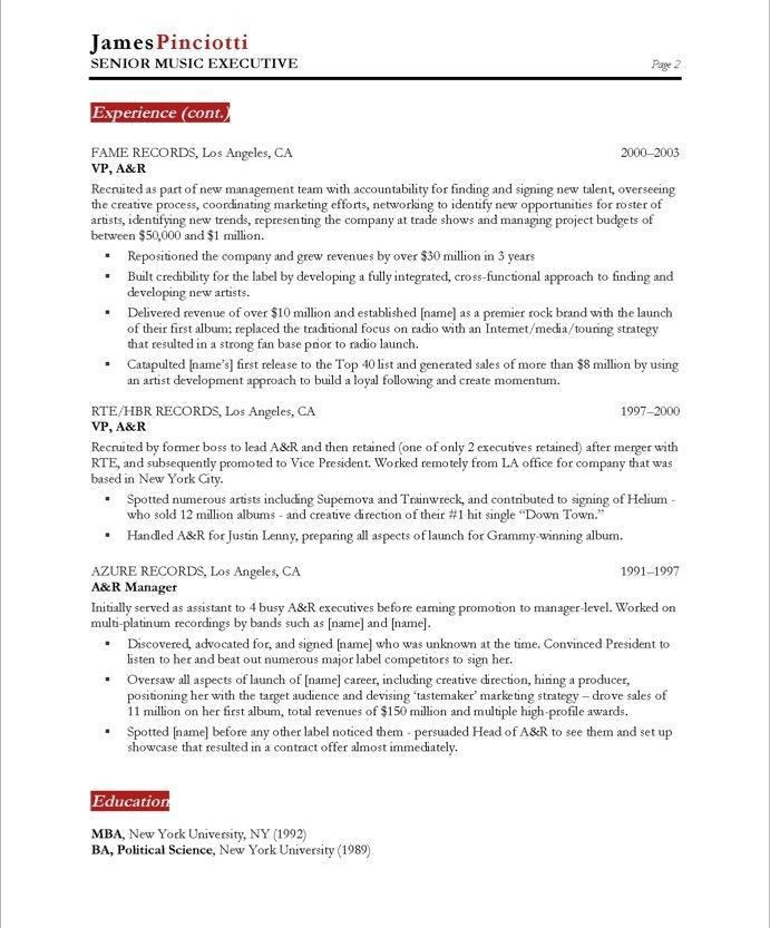 uncategorized sample resumes. experienced. industry lawyer ...
