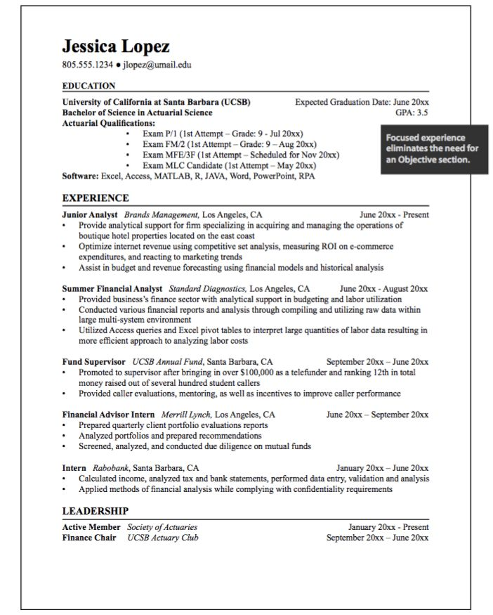 Junior Analyst Example Resumes - http://exampleresumecv.org/junior ...