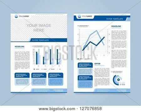 Brochure Layout. Brochure Design Vector & Photo | Bigstock