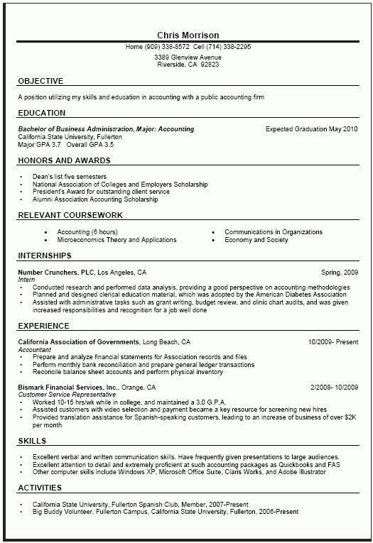 General Resume Examples 10 Resume Ideas Download Jiahuijingya.com ...