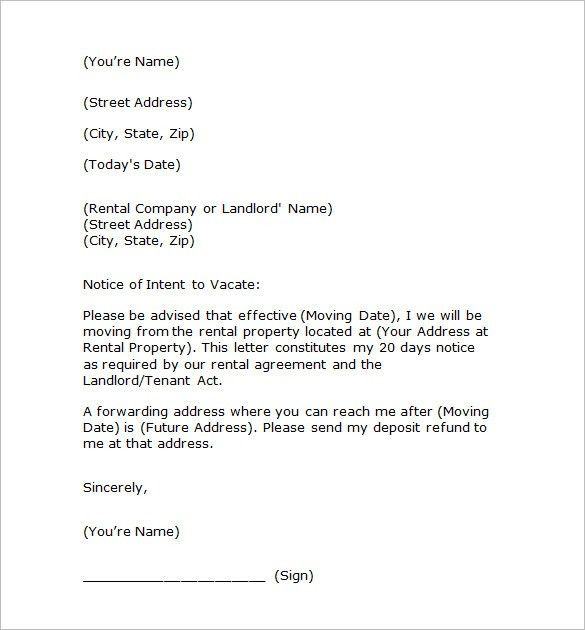 Notice Template - 110+ Free Word, PDF Format Download   Free ...