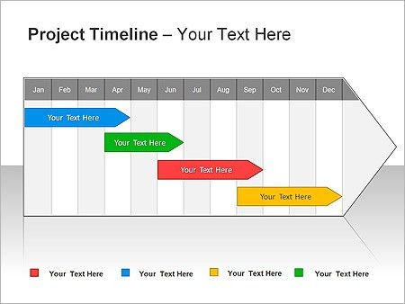 Project Management Timeline Template PowerPoint - Online Business ...