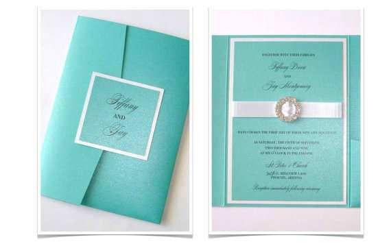 Tiffany Wedding Invitations - vertabox.Com