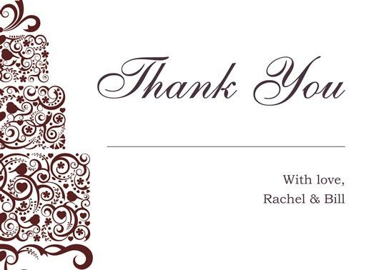 Download Printable Kit Wedding Thank You And Response Card | WIR ...
