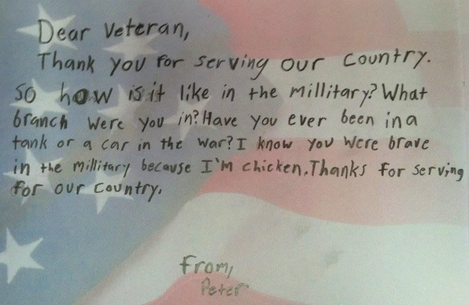 how to write a letter to a soldier - Google Search   Operation ...