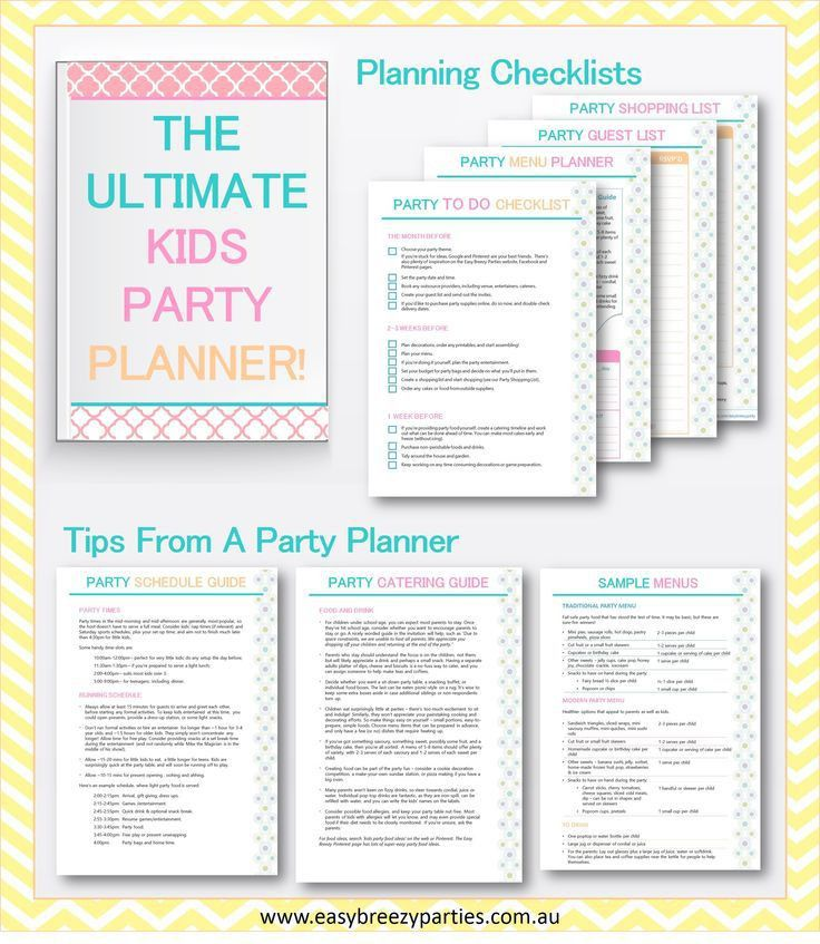 Best 25+ Birthday party planner ideas on Pinterest | Birthday ...