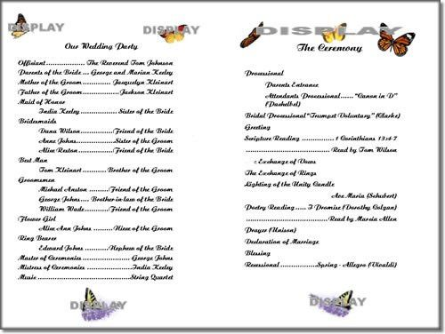 ThinkWedding's Monarch Butterflies Template Collection of Print ...