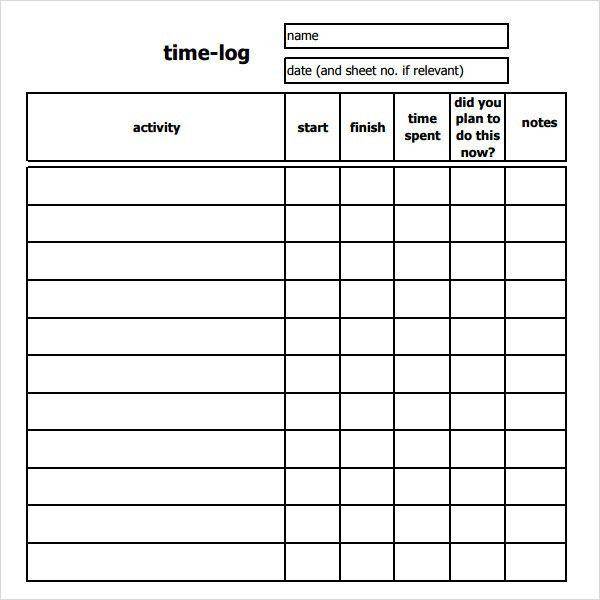 Log Sheet Pdf. Log-Sheet-Template-Food-Log-Sample Sheet-Template ...