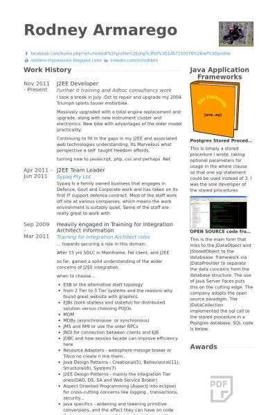 J2ee Resume Example J2ee Professional Resume Resume Taranjeet Singh