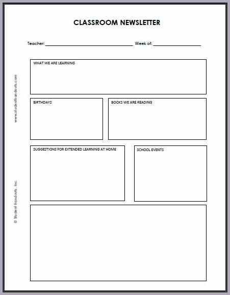 free printable newsletter templates | proposal forms templates