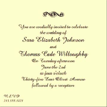 Stunning Wedding Invitation Words From Bride And Groom 88 On ...