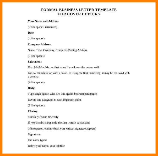 5+ formal letter template word | appeal leter