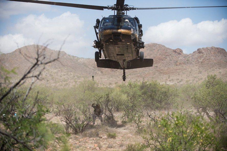 Border Patrol team working missing migrant cases