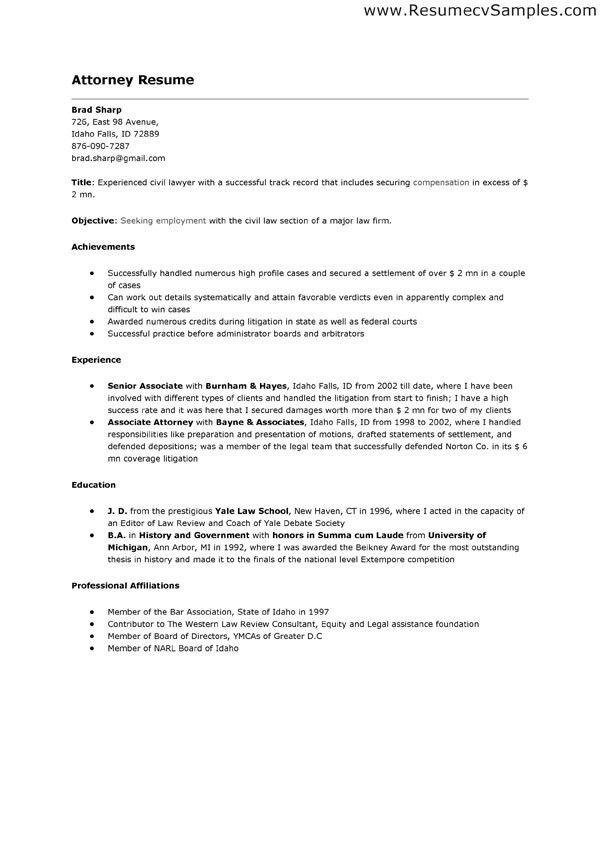 Tax Lawyer Cover Letter - Resume Templates